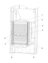 patent us8118899 self cleaning device of filtering net of air