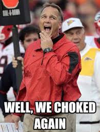Choke Meme - best georgia football memes from the 2015 season