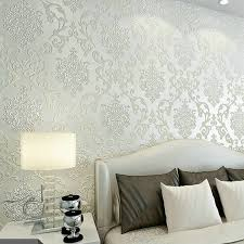 damask wallpaper for walls roll paper gold silver papel de parede