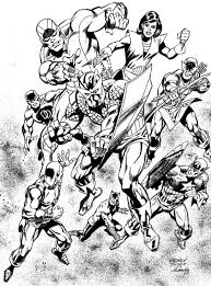 coloring pages avengers books and comics coloring pages for adults coloring