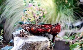 unusual container garden ideas care2 healthy living