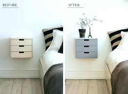 diy bedside table easy recycled pallet pinterest ideas