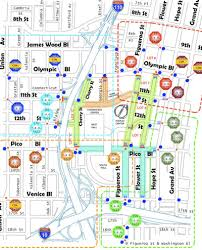 map of downtown los angeles the informal economy michael jackson edition blogs planetizen