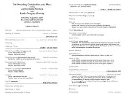 catholic wedding program 41 common myths about catholic wedding programs template