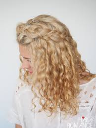 hairstyles at 30 30 curly hairstyles in 30 days day 2 hair romance