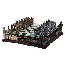fantasy chess set deluxe fantasy 3d chess set with glass chessboard and pewter chess