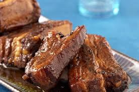 cuisiner travers de porc travers de porc caramélisés au miel