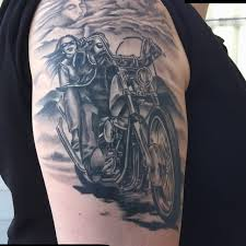 Tattoos On Shoulder For - 95 adventurous harley davidson tattoos