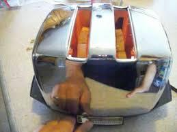 Sunbeam 2 Slice Toaster Vtg Sunbeam Chrome Radiant Control 2 Slice Automatic Auto Drop