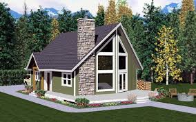A Frame Home Floor Plans Aframe Houseplan 99946 Has 1172 Sq Ft Of Total Living Space 2