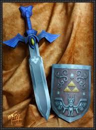 Master Sword Papercraft - master sword papercrafts papercraftsquare