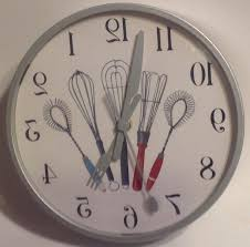 decorative clock kitchen utensil clock kenangorgun com
