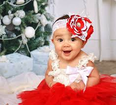 baby girl headbands and bows and white facinator christmas baby headband baby girl headband