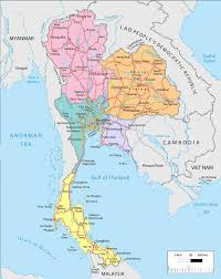 Map Of Thailand Spring Break Travels Musings On Thailand Vantage Points