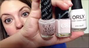dupe alert pale pink nail polishes opi c u0026e orly youtube