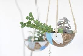 pretty indoor hanging planters