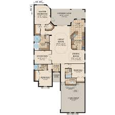 Rivergate Floor Plan by The Avalon New Homes In St Augustine Fl