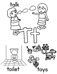 t words free alphabet coloring page alphabet coloring pages of