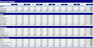 Excel Spreadsheet Budget Template Business Budget Templates For Excel Budgeting Excel Templates