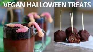 easy vegan halloween treats youtube