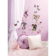 flower fairies wall stickers kids stuff pinterest flower fairies wall stickers