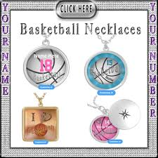 personalized basketball necklace personalized basketball jewelry for and women