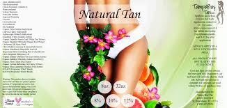 All Natural Sunless Tanning Lotion Natural Tan Organic Spray Tan Solution