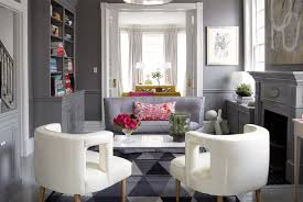 grey living room chairs gray walls with gray chair rail contemporary living room