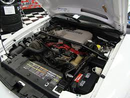 95 mustang engine 1995 mustang cobra r engine bay a photo on flickriver