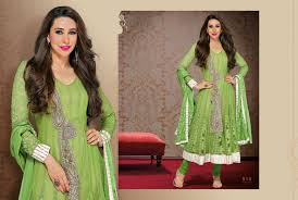 light green color beautiful light green wedding wear anarkali dress for girls