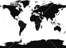 World Map Black And White World Map Wall Mural U0026 Photo Wallpaper Photowall