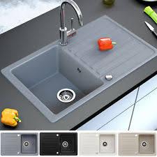 spüle küche für bad küche spülen mit abtropffläche ebay