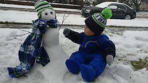 lexus ls in snow photos snow day gives rise to snowmen day komo