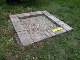Square Fire Pit Kit by Furniture U0026 Accessories Imitating Fire Pit Kit This Old House As
