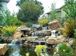 Backyard Waterfalls Ideas Small Outdoor Ponds Waterfalls Pond Waterfall Designs Pictures