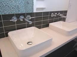Kohler Bathroom Sinks And Vanities by Floating Vanity Kohler Vox Vessel Sinks Modern Bathroom San