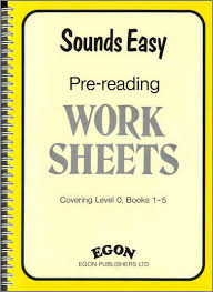 sounds easy pre reading worksheets