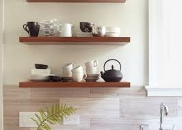 glamorous kitchen wall display shelves tags kitchen wall shelves