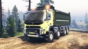 volvo 10 wheeler truck volvo for spintires download for free