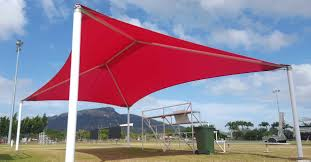 Custom Shade Canopies by Cheyne Shades U0026 Canvas Shade Sails Townsville Colourful And