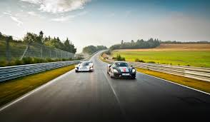 the porsche 956 and 918 at the nà rburgring nordschleife