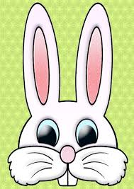 8 best images of printable easter bunny face easter bunny face