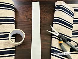 Diy Runner Rug A Budget Friendly Diy Rug Runner Farmhouse 1820