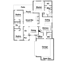european style house plan 3 beds 2 00 baths 1900 sqft 430 144 sq
