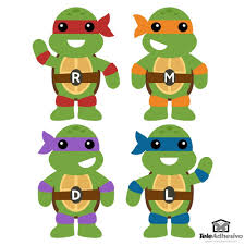 kit ninja turtles