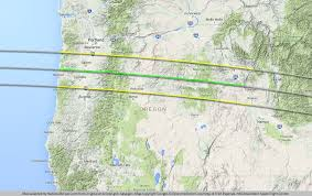 oregon map with cities eclipse maps national eclipse august 21 2017 total solar
