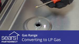 converting a gas range to operate on lp gas youtube