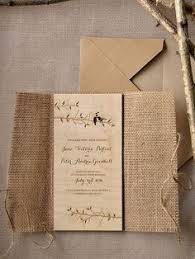 burlap wedding invitations rustic country burlap wedding invitations 4lovepolkadots
