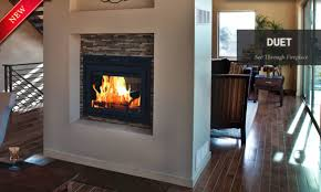 zero clearance wood burning fireplace high efficiency wood
