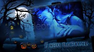 halloween background template 1280x720 vj neon lights background motion graphics videohive template